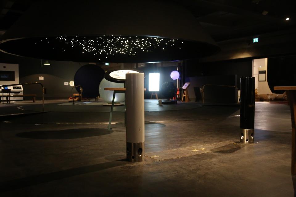 Theremin Bollards, Wonderlab, Science Museum, London