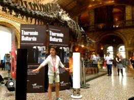 Theremin Bollards Natural History Museum 1