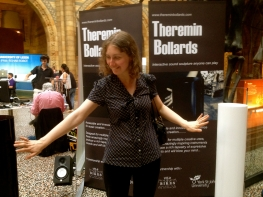 Theremin Bollards Natural History Museum 4